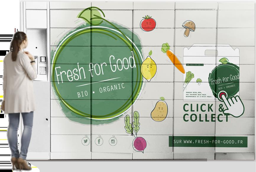 lockers de fruits et légumes