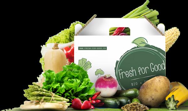 Box de fruits et légumes